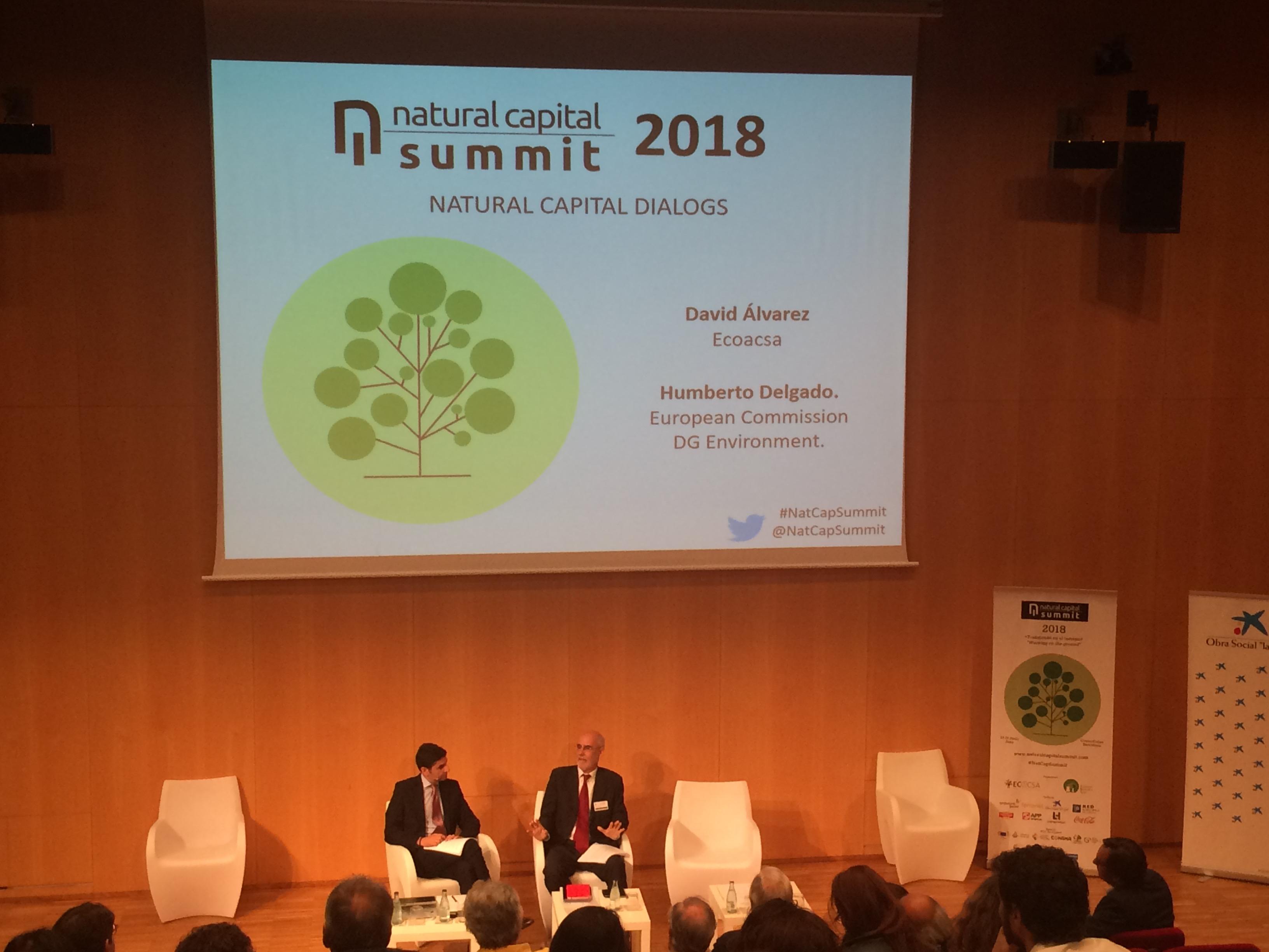 Natural capital dialogues with Humberto Delgado, Natural Capital Director, DG Environment of the European Commission
